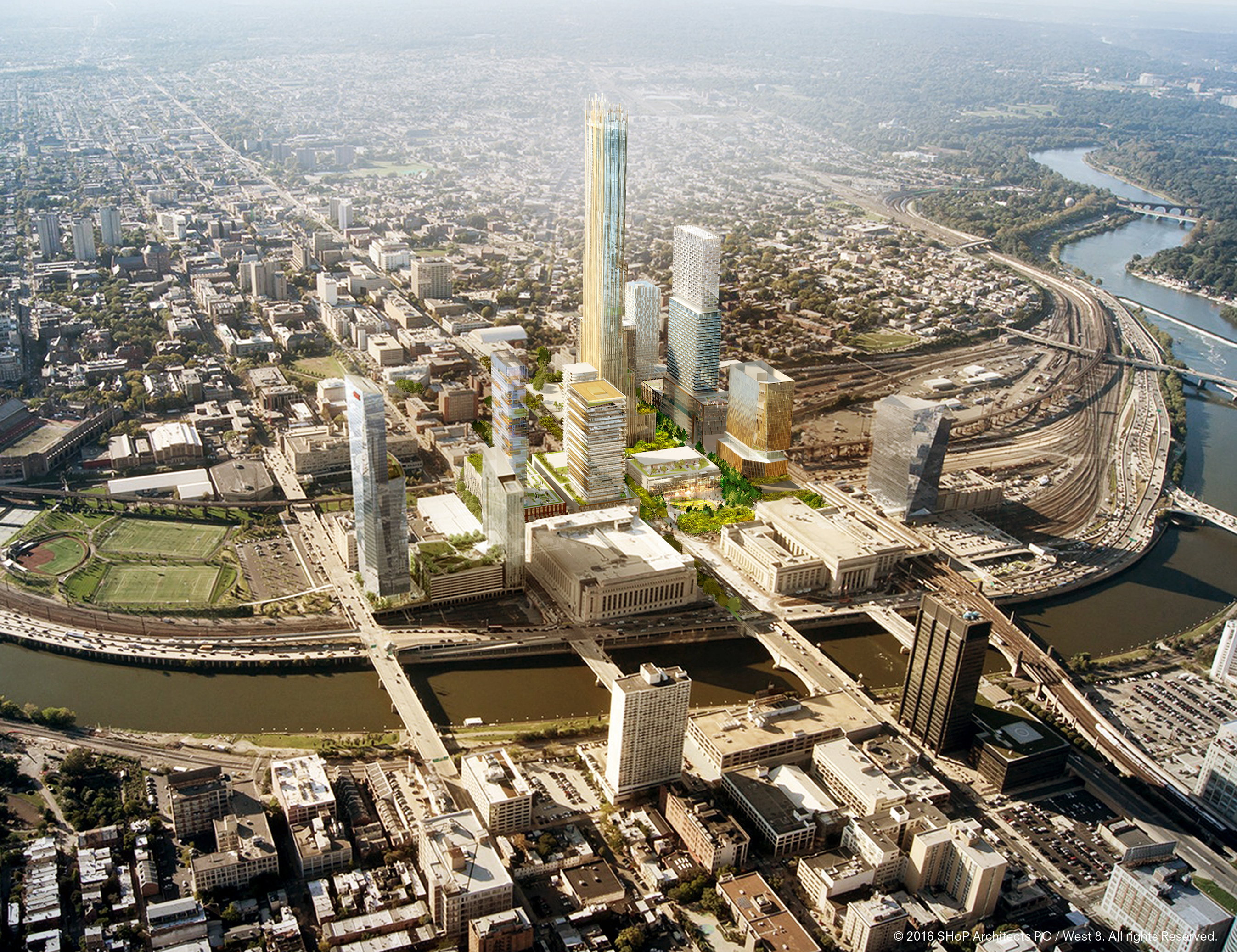 Drexel University Unveils Massive $3.5B Schuylkill Yards Development Plans  - Curbed Philly