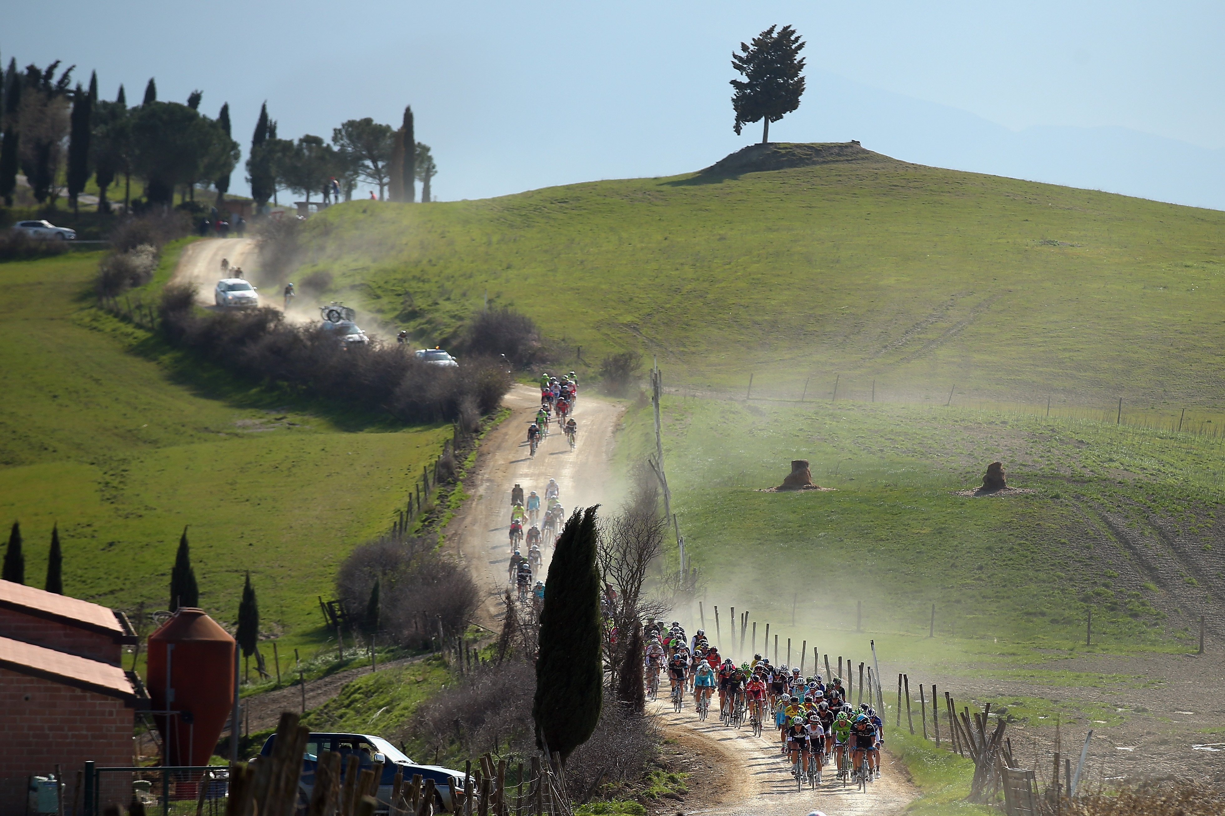 Image result for strade bianche getty images
