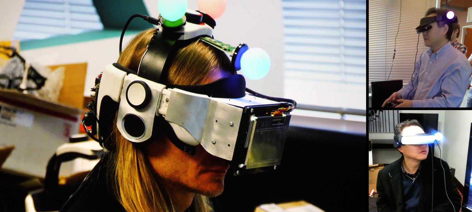 PlayStation VR prototypes