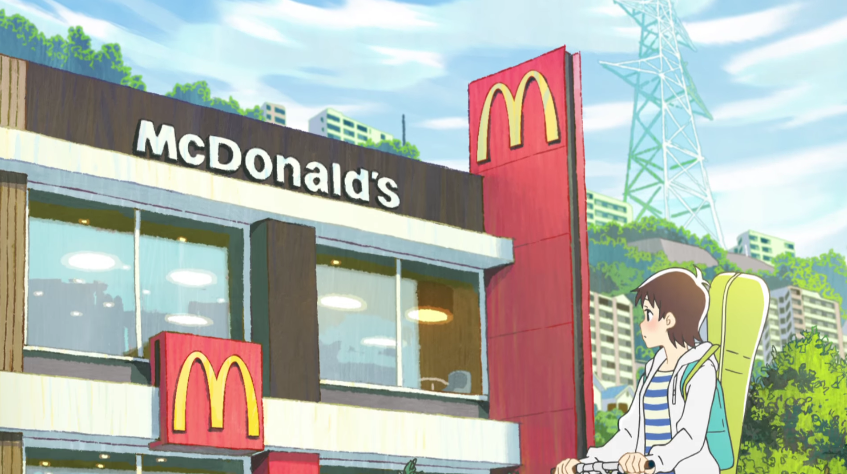 McDonalds Anime Ad Needs Five Seasons And A Movie