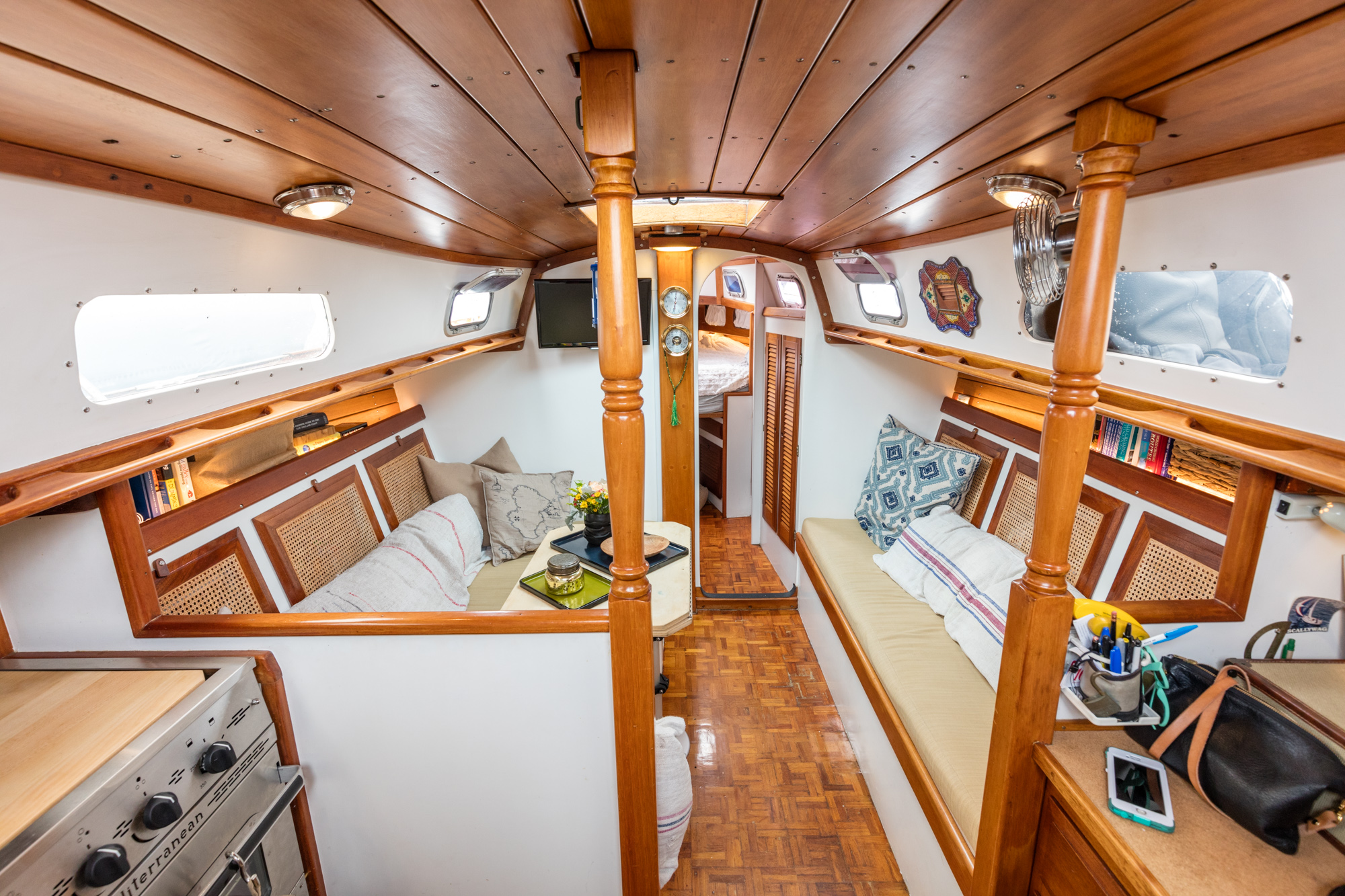 Touring The 200-Square-Foot Sailboat One New York Couple
