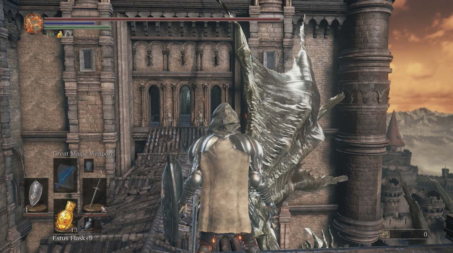 Dark souls 3 lothric castle walkthrough polygon climb up the ladder grab the titanite chunk at one of the corners of the rooftop cross the narrow connecting rooftop and take on the hollow soldiers biocorpaavc Gallery