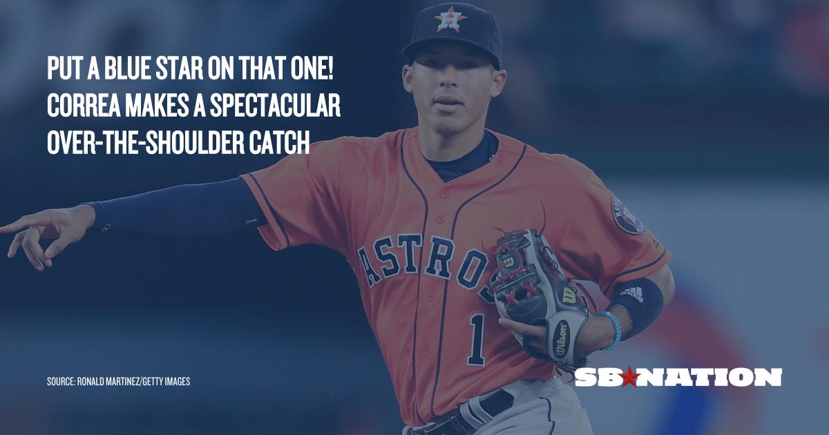 Astros Carlos Correa m...