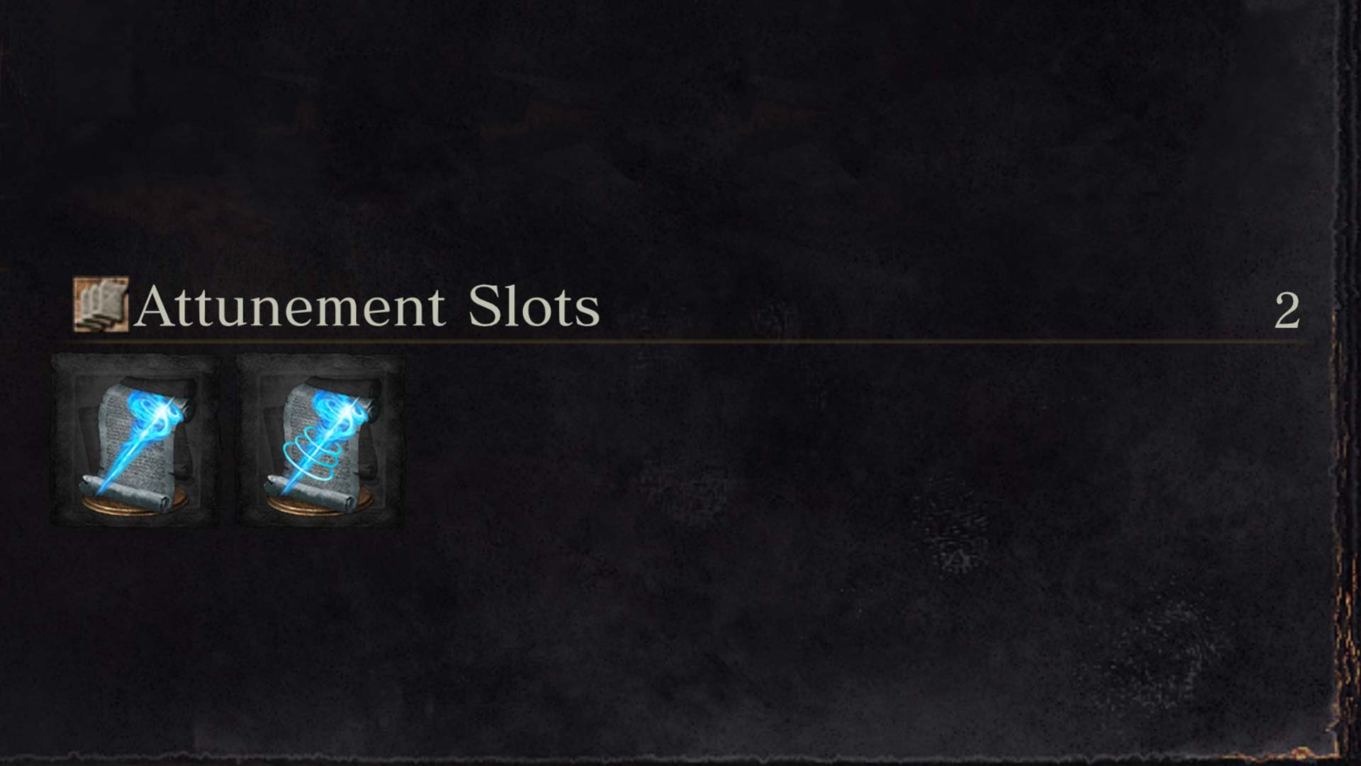 dark souls attunement slots