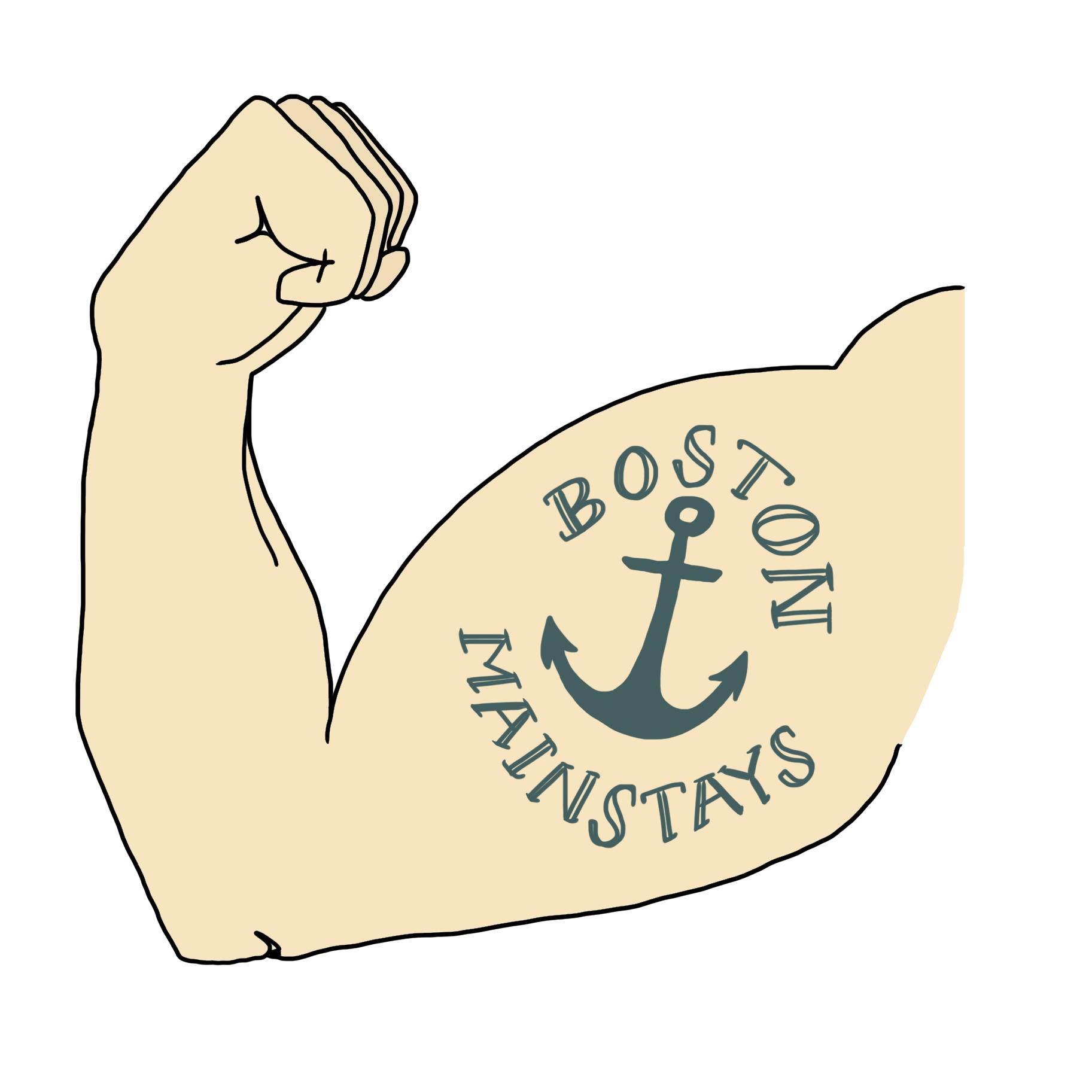 Boston Mainstays logo square