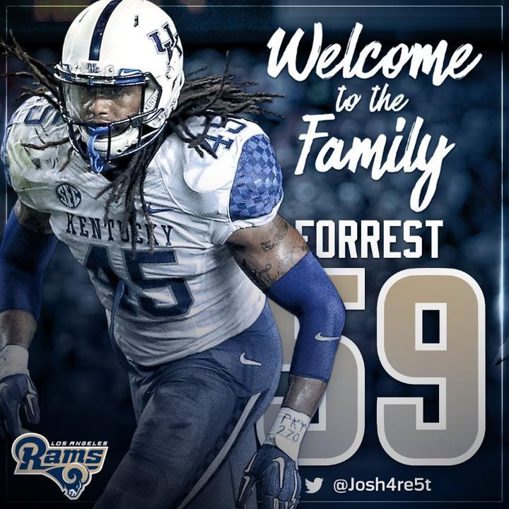 Josh Forrest jersey number