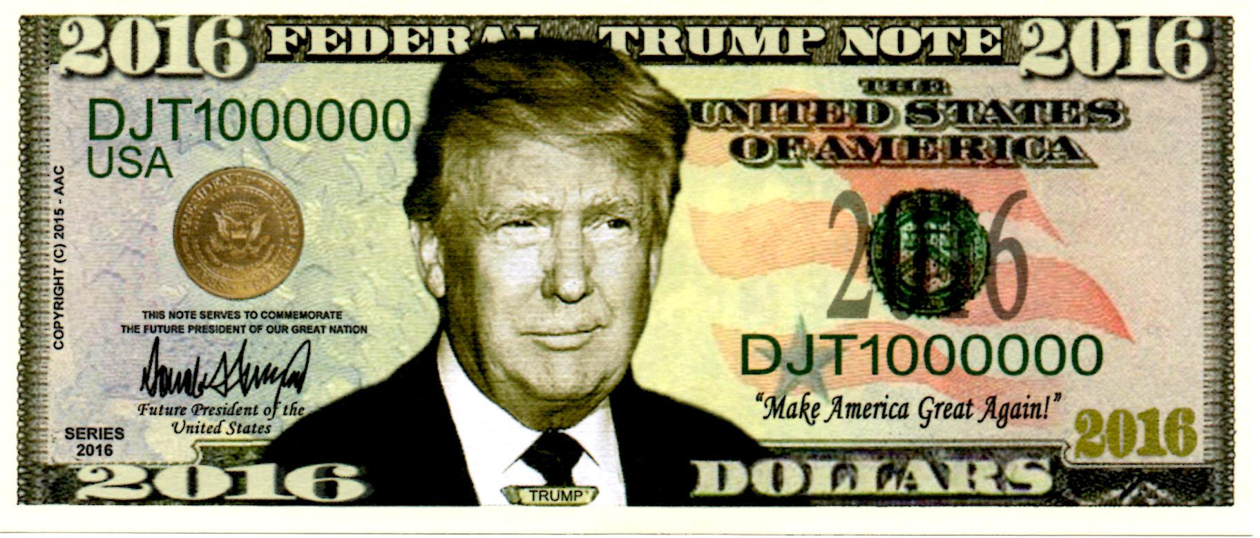Donald Trump On The Debt You Never Have To Default Because Print Money Vox