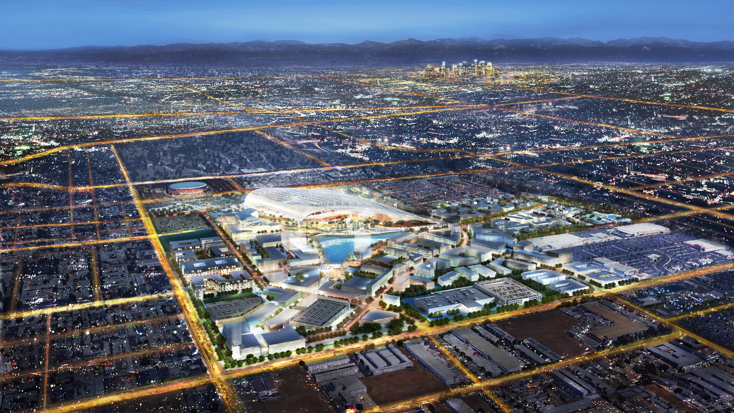Image result for Los Angeles Rams stadium breaks ground