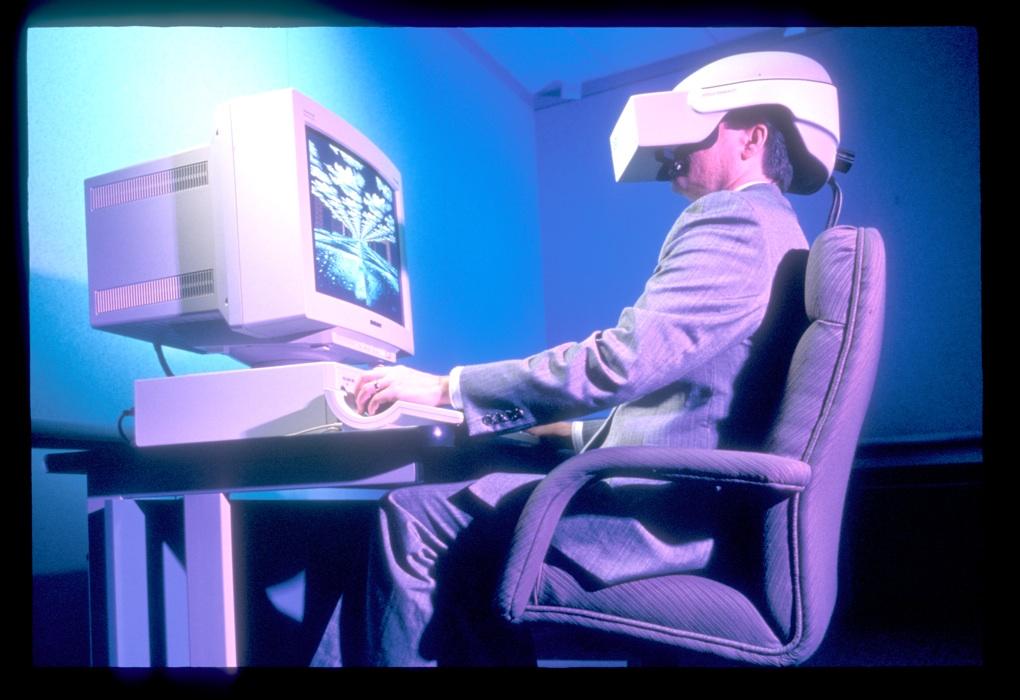 Intel virtual reality advertisement