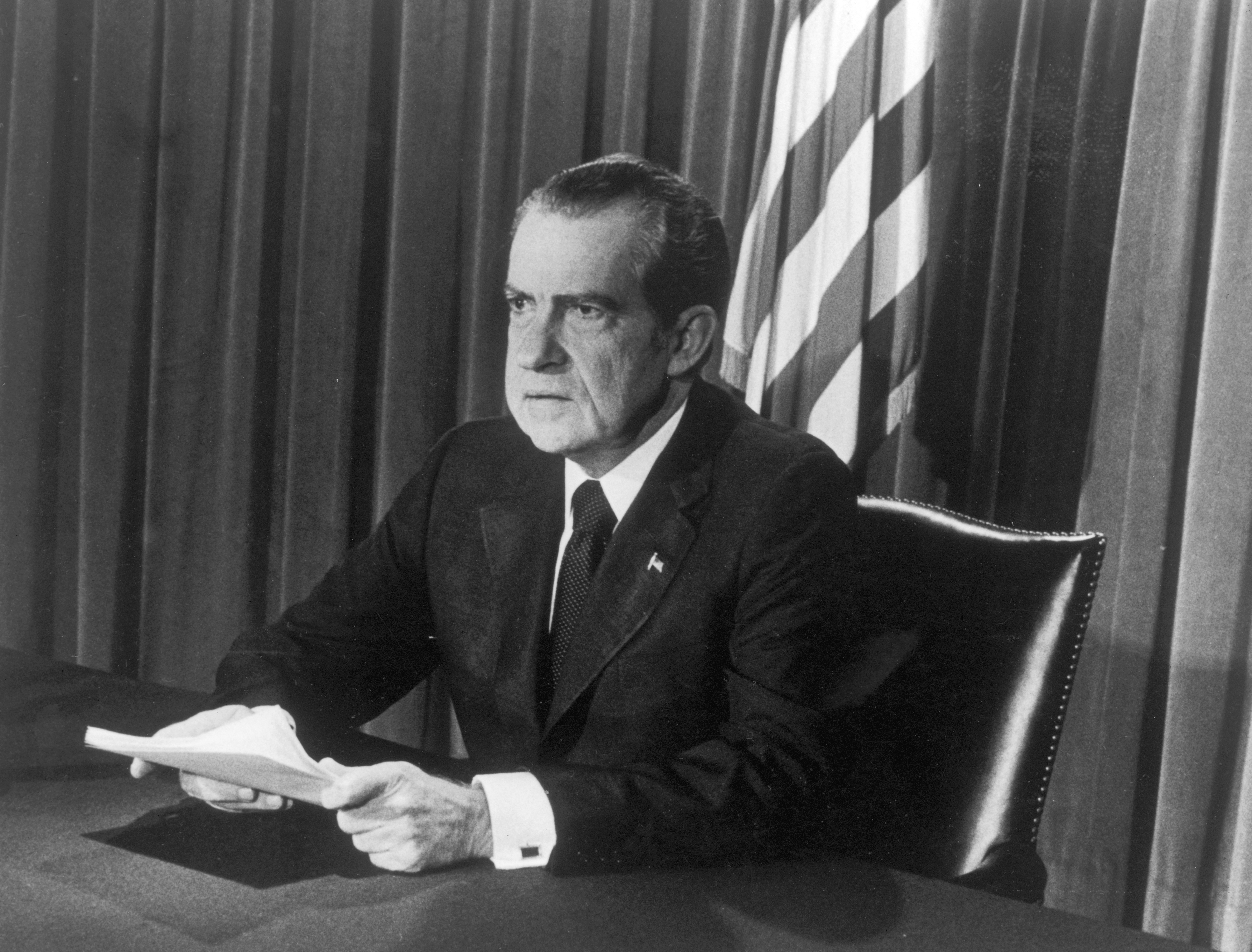 Research Paper: Thesis on Nixon?