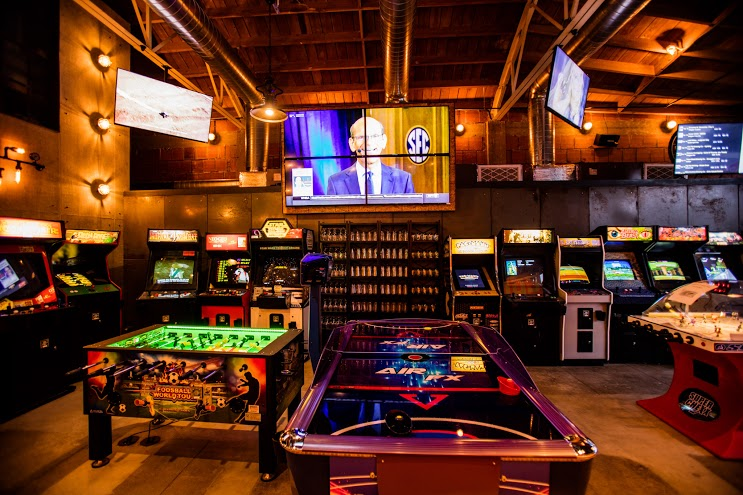 All New Arcade Bar Coin Haus Arrives In La Mesa Eater