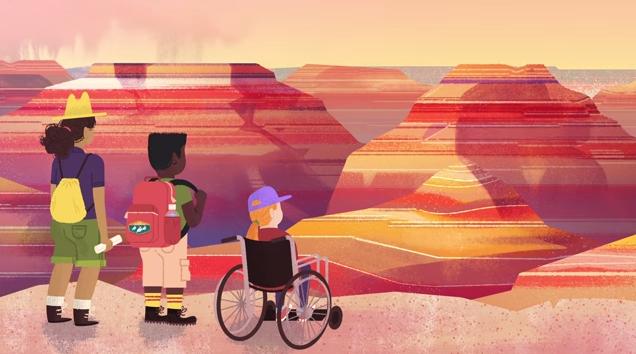 google doodle national parks centennial