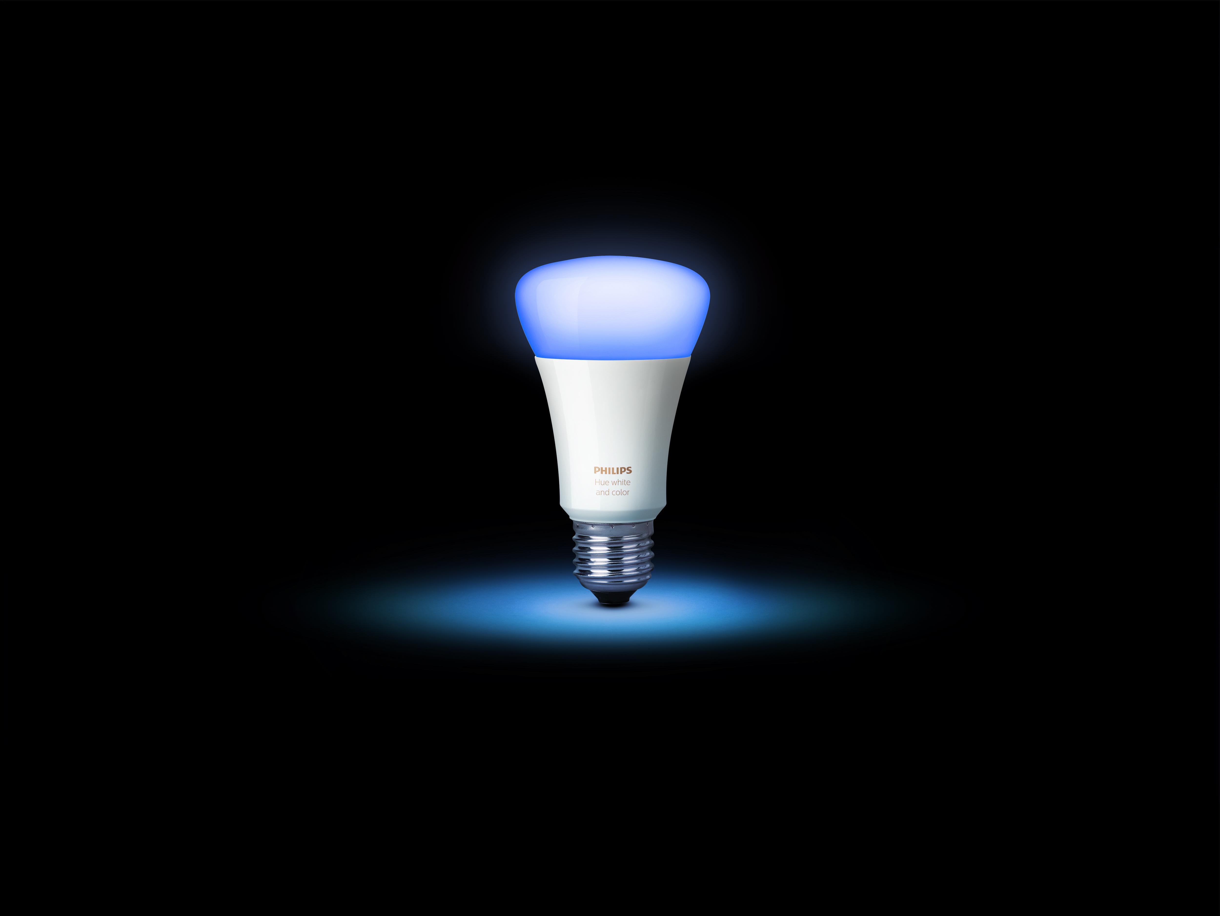 philips hue new a19 bulb cyan - Philips Hue Color