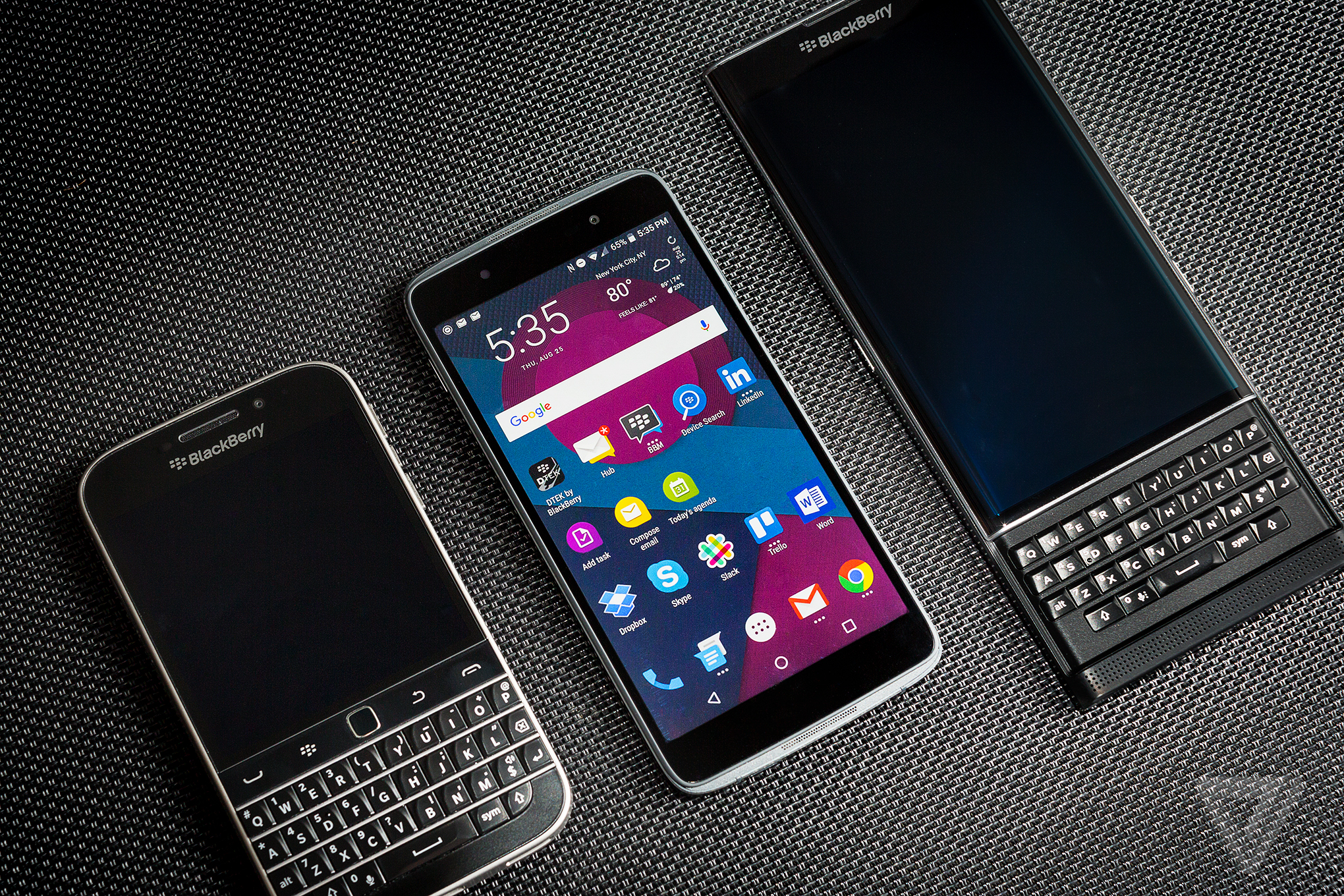 BlackBerry DTEK50 review: secure, but not special | The Verge