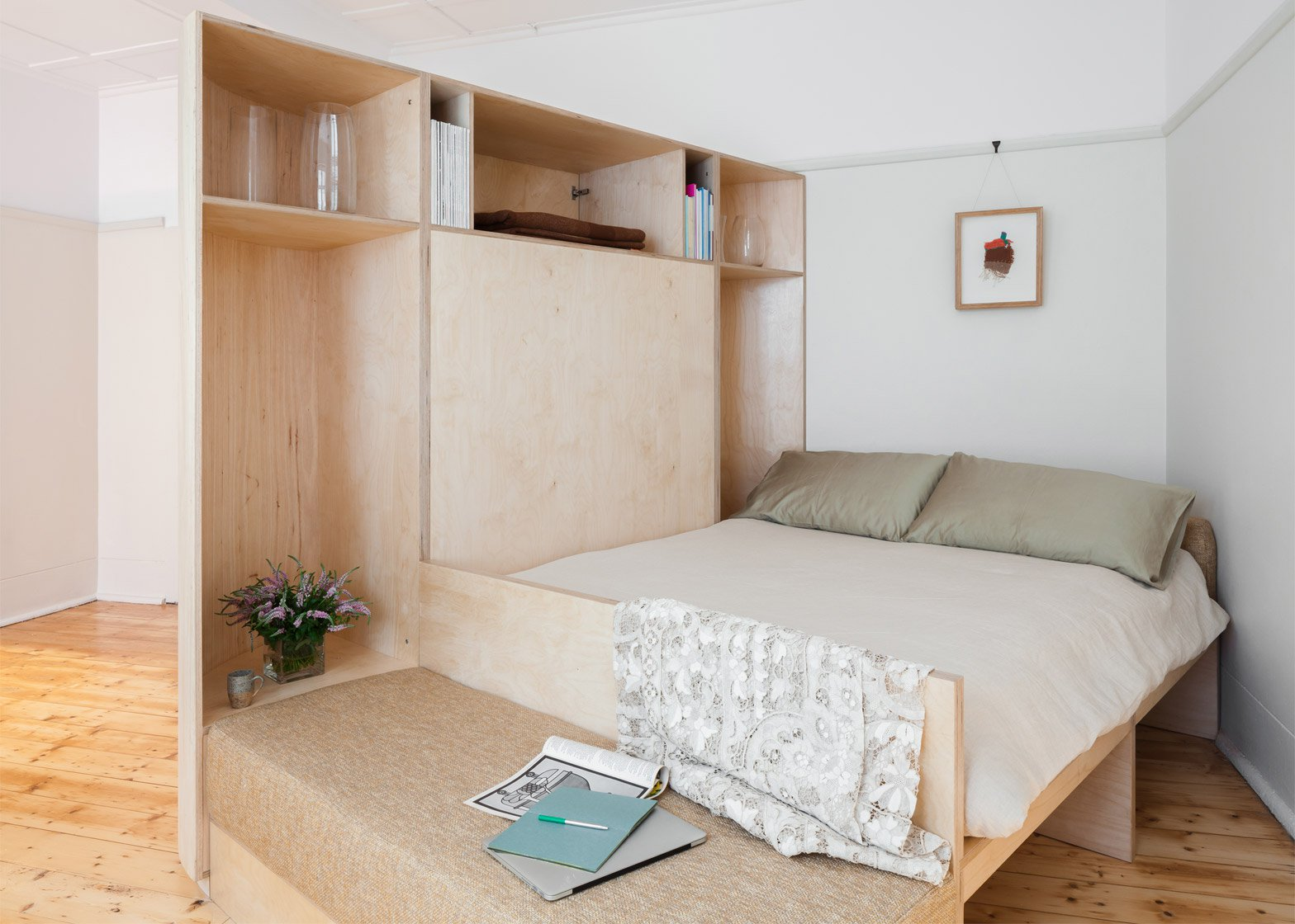 11 of the best micro apartments from around the world curbed for Tiny studio apartment
