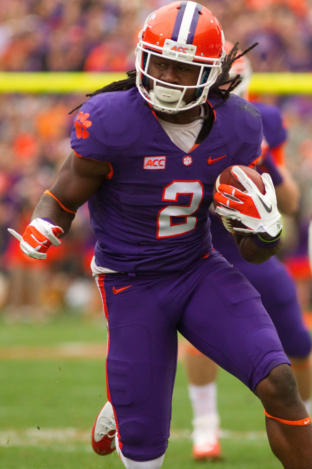 clemson tigers purple jersey