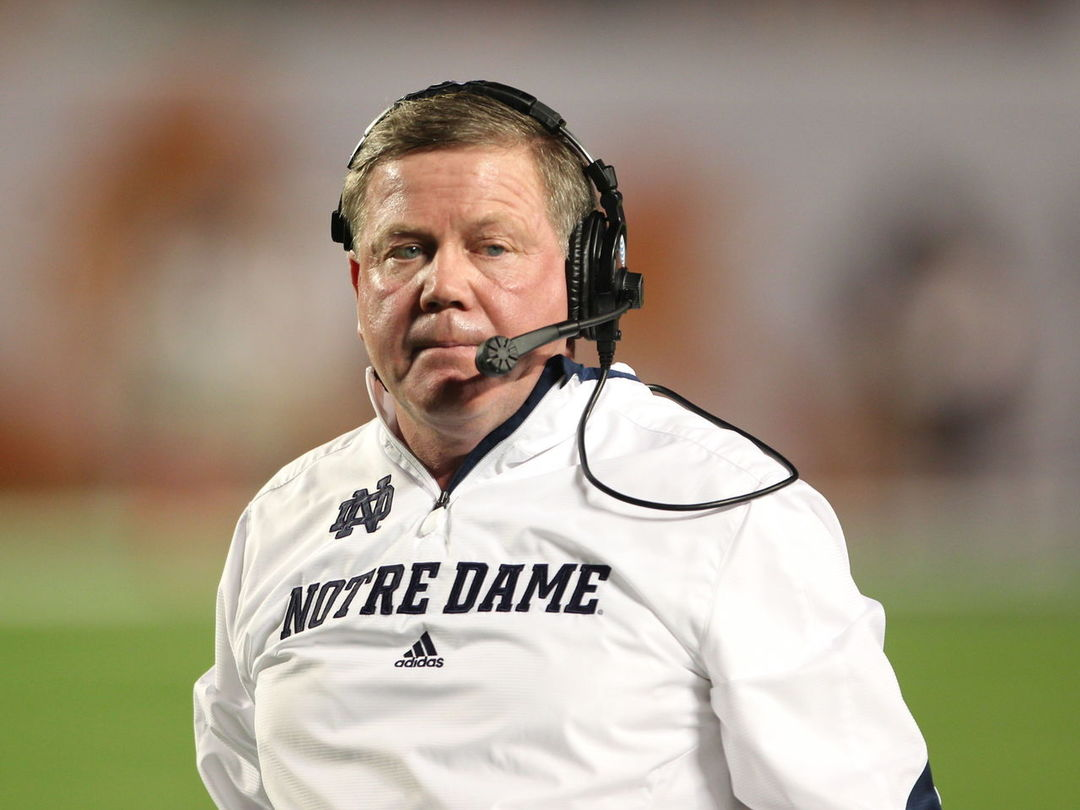Brian Kelly: 'There is no position that is untouchable on this team'