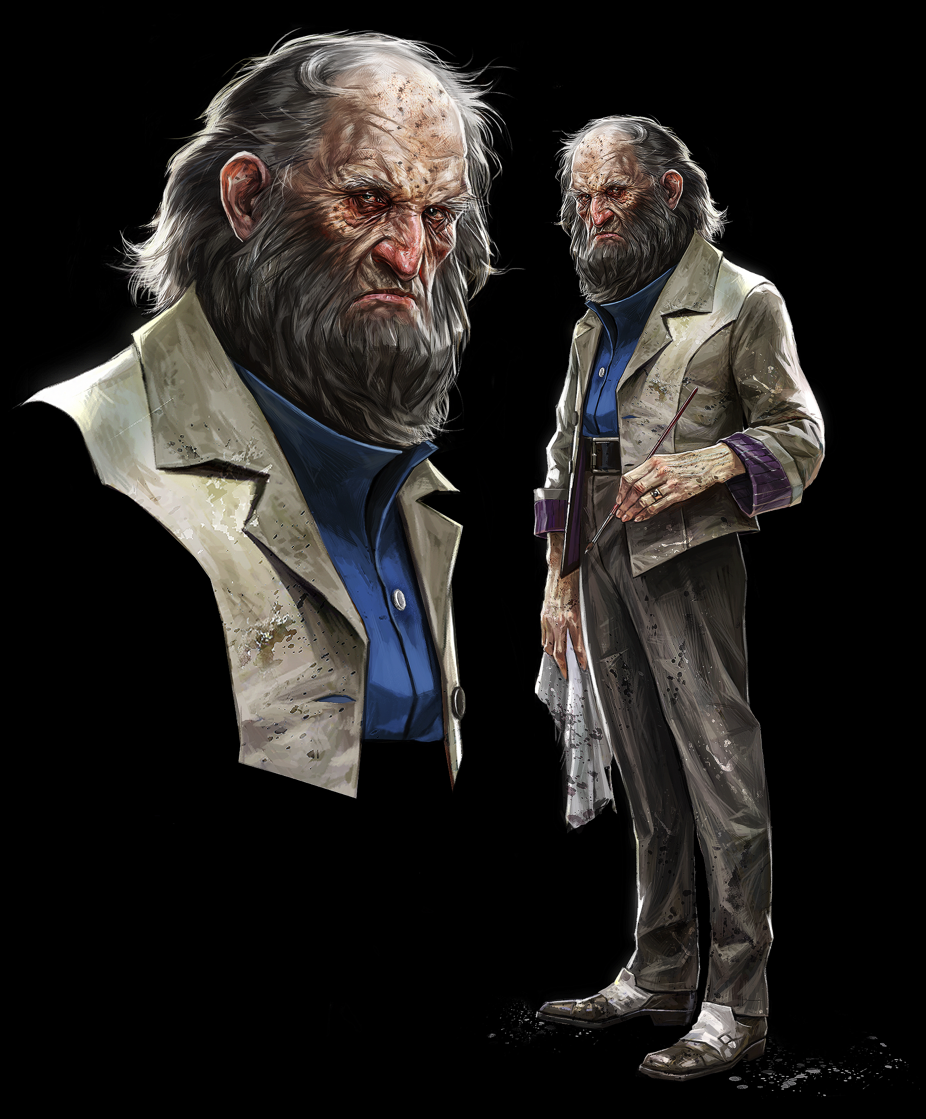 Character Design Jobs Australia : The concept art behind dishonored s menacing characters