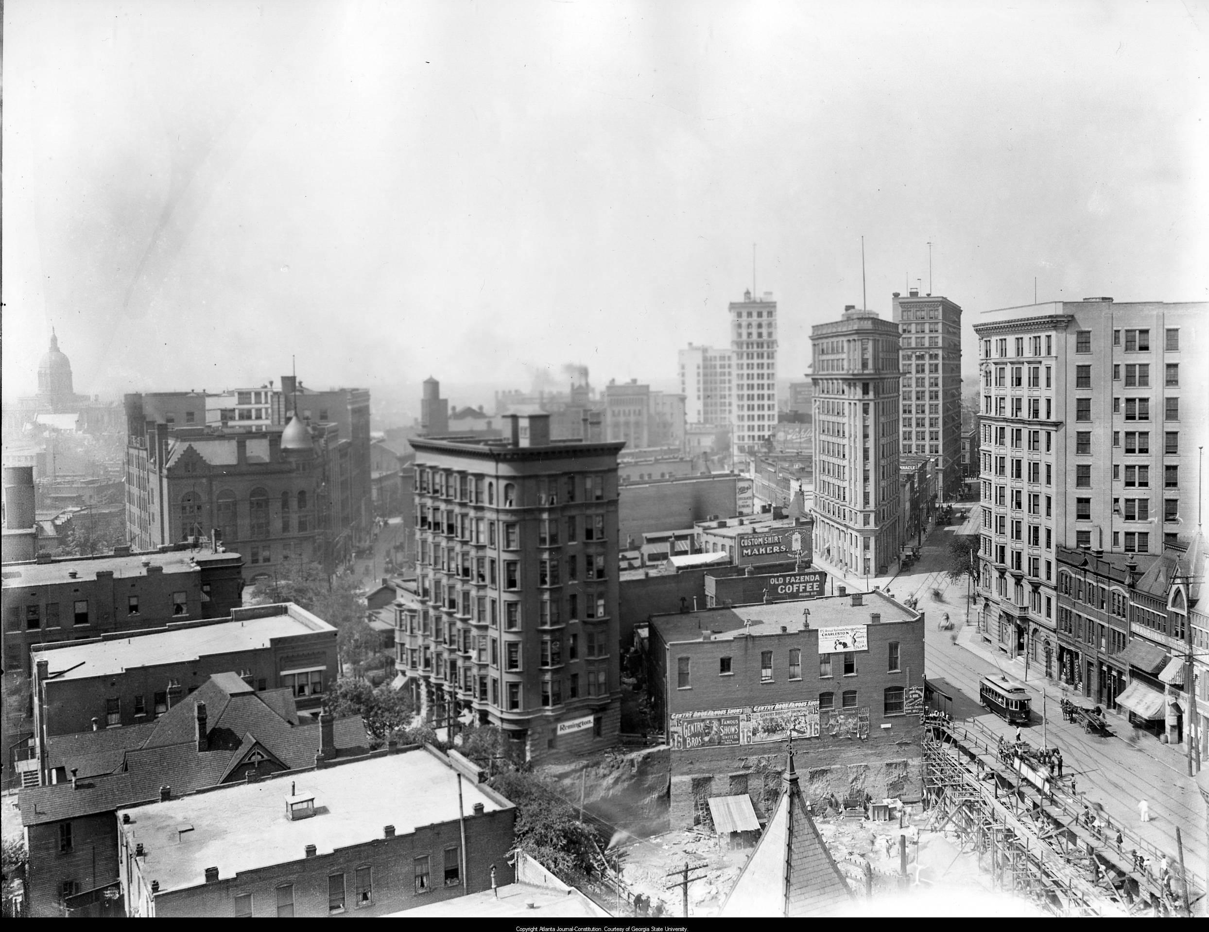 Atlanta s rising skyline through the years in photos for Georgia builders