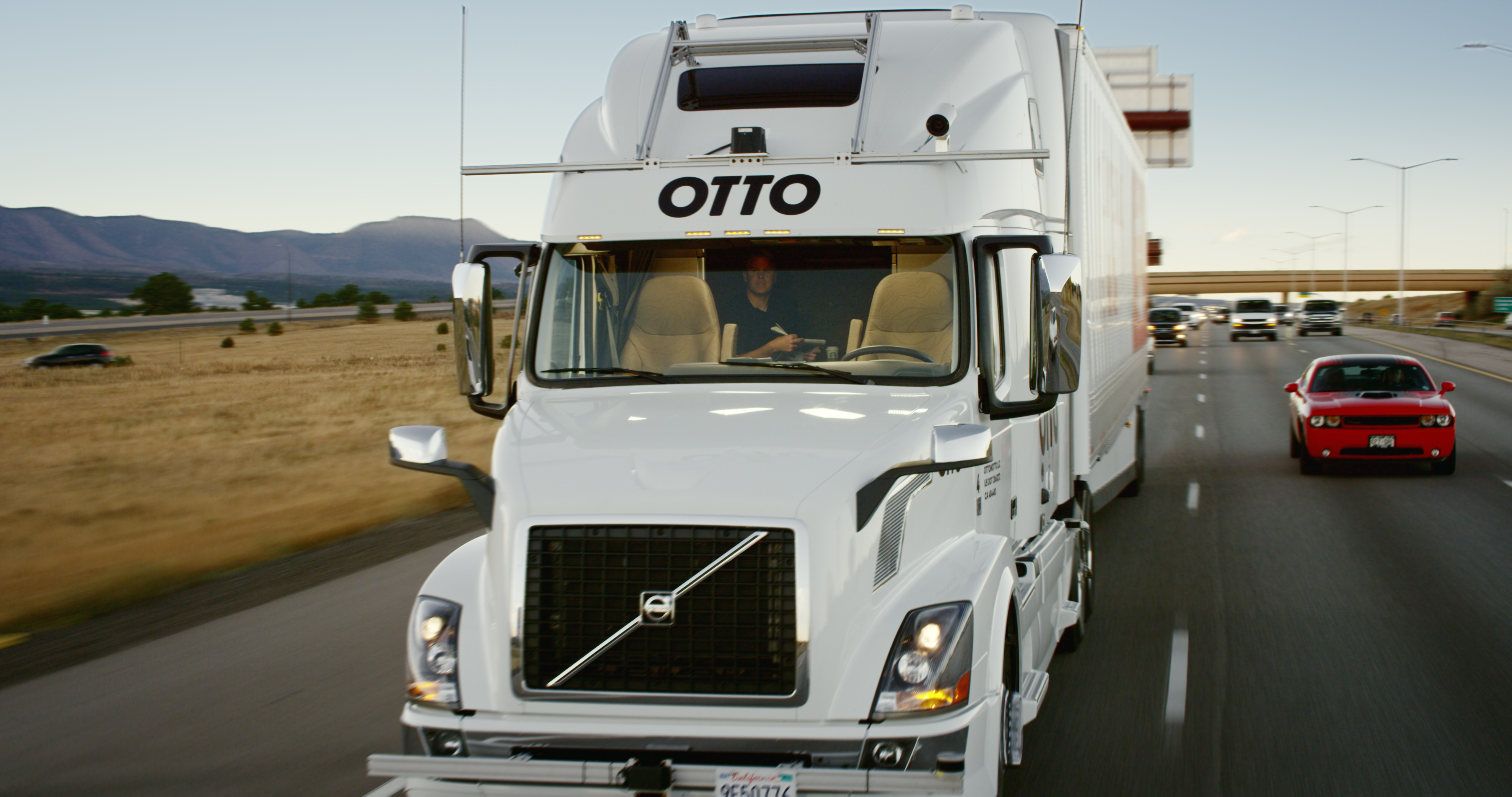 Self-driving truck goes 120-plus miles through Colorado on beer delivery