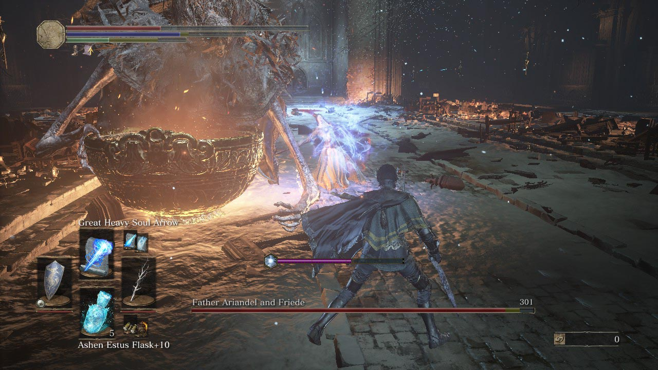 Dark Souls 3: Ashes of Ariandel walkthrough 6  Ariandel