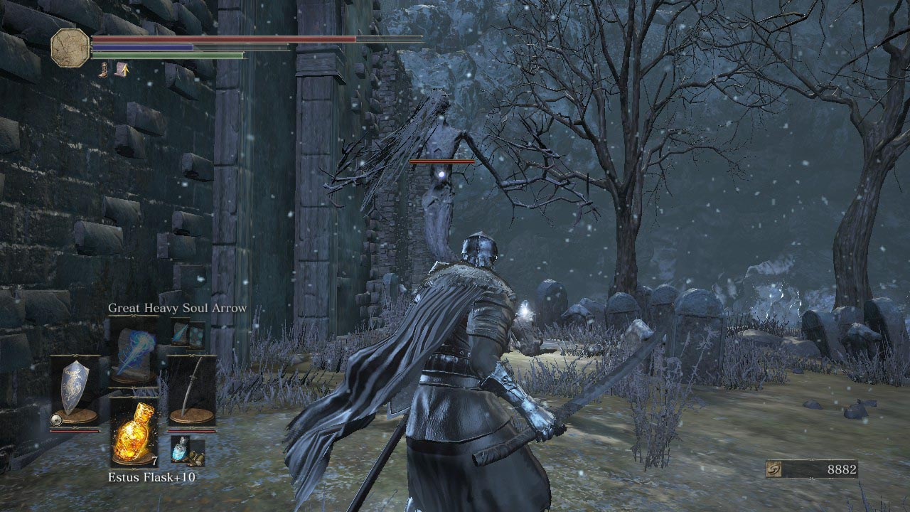 how to get overpowered to fight sulyvahn in dark souls