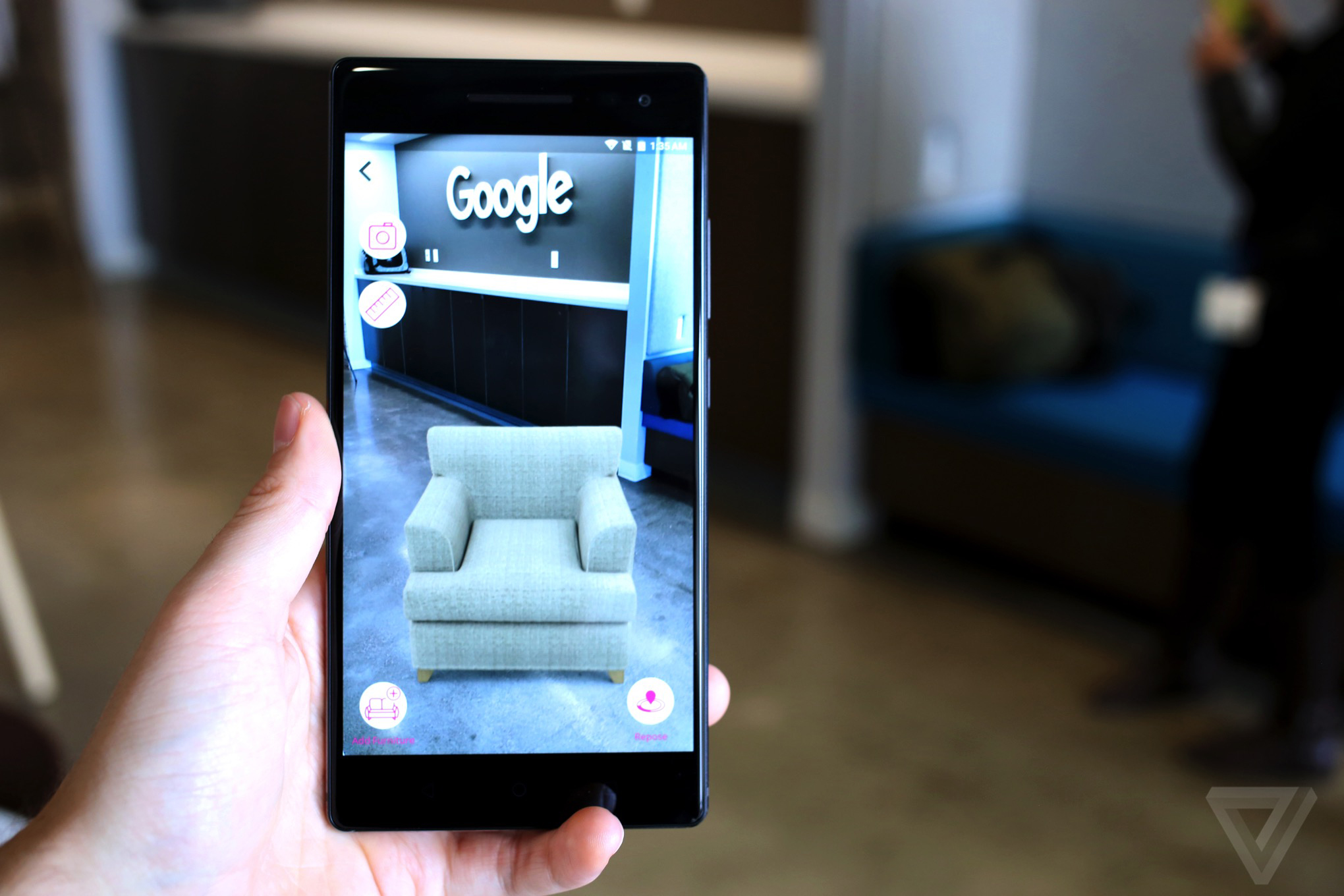The first Google Tango phone delivers true augmented ...
