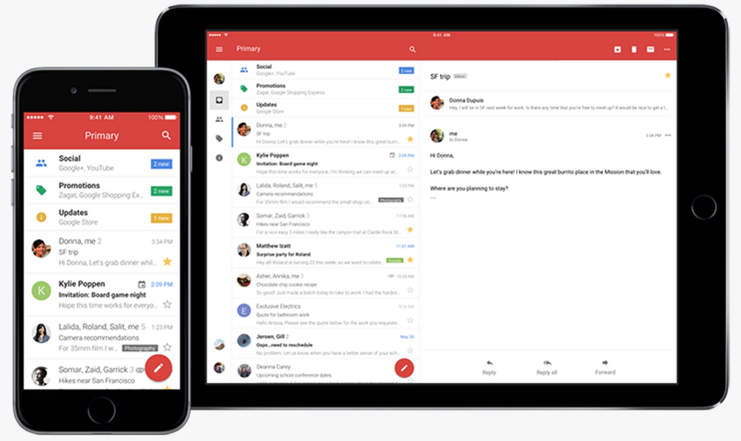 Google just redesigned Gmail for iPhone and made it way ...