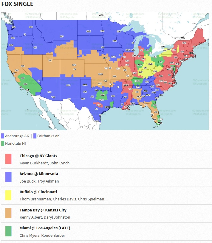 Game Times, TV Coverage, And Why Your Team Always Gets