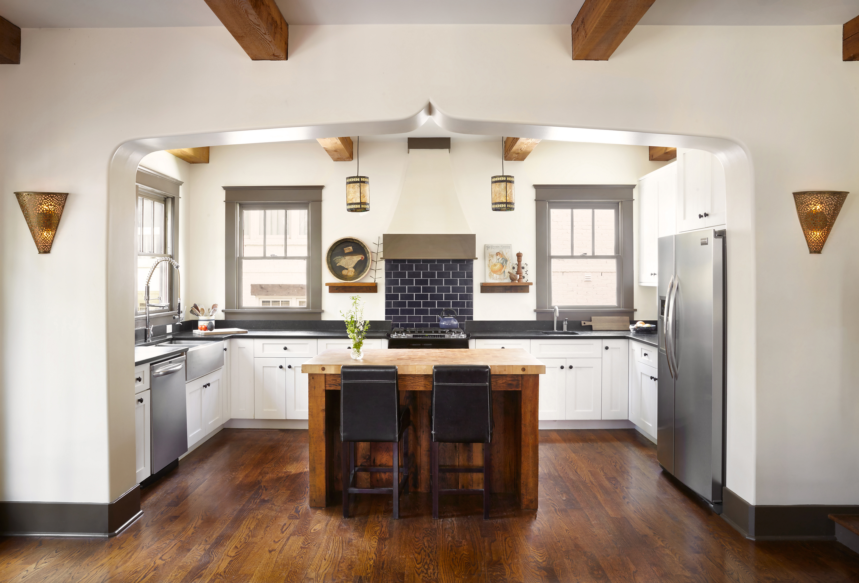 Kitchen Alcove With Revamp An Old Tudor Learns New Tricks In Nashville Curbed