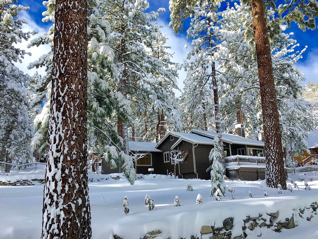 9 cozy cabins near la you can rent this winter curbed la for Snow white cottages los angeles