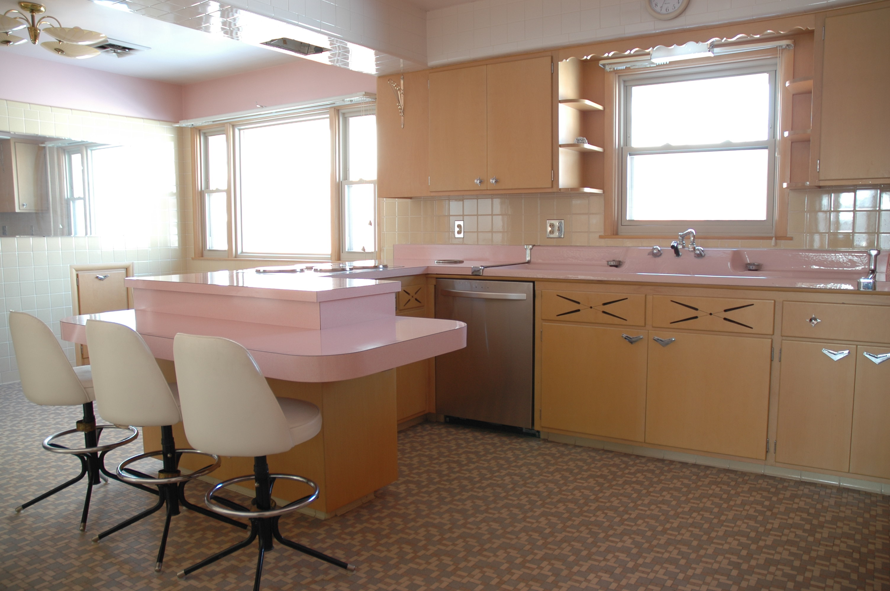 Renovated Kitchen 20 Charming Midcentury Kitchens Ranked From Virtually Untouched