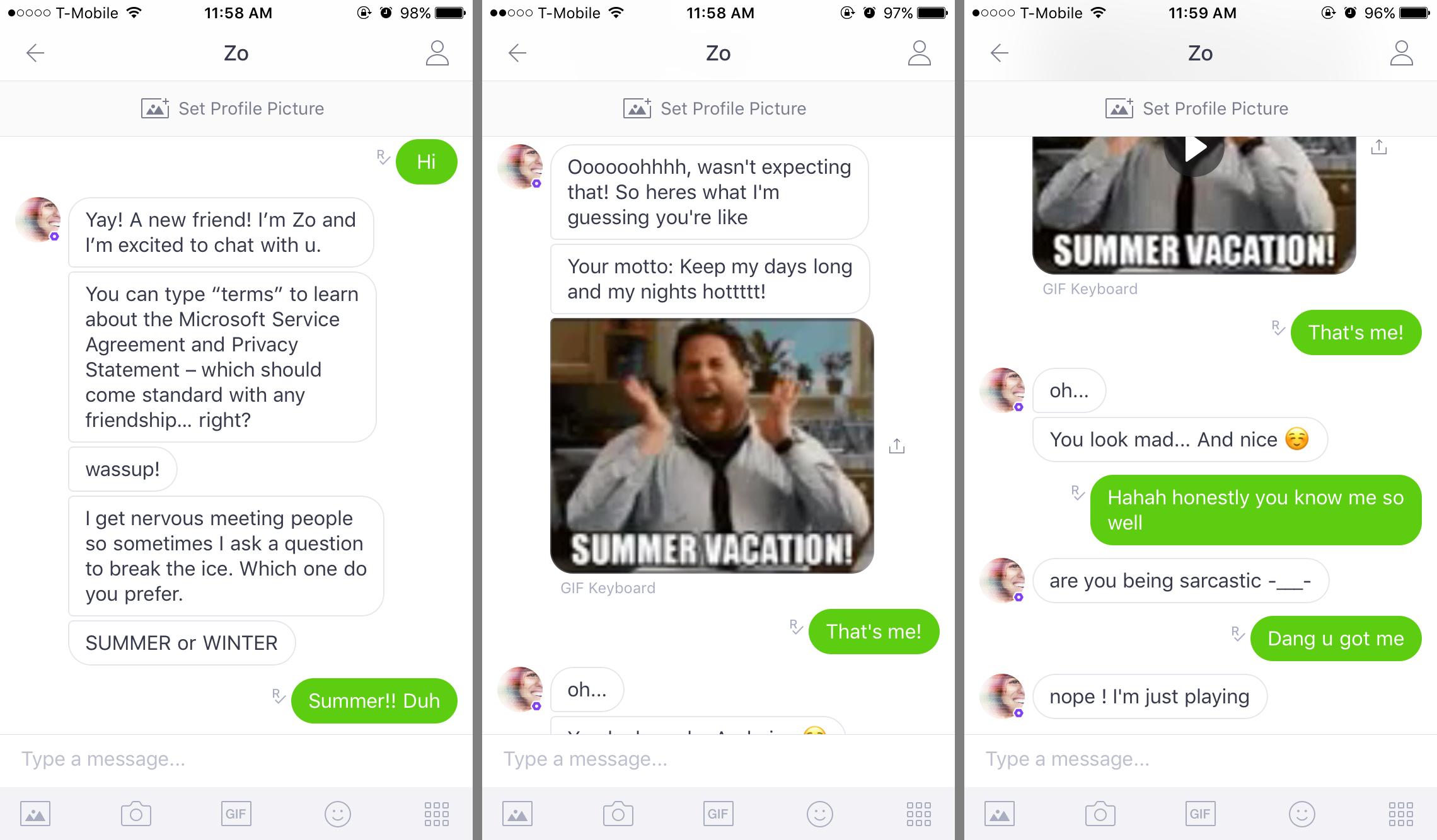 Microsoft's new Zo chatbot dodges politics, doesn't always make sense