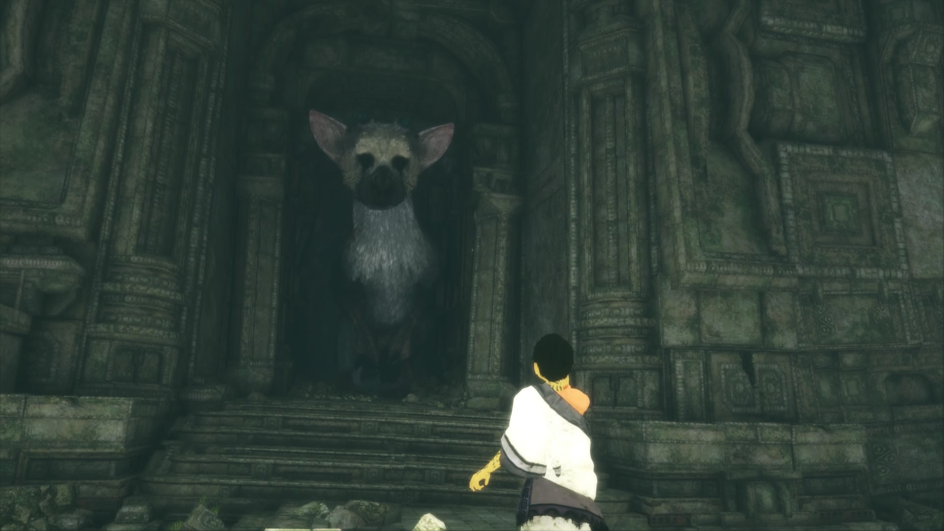 the last guardian walkthrough part 4  temple  armor and trico u0026 39 s tail