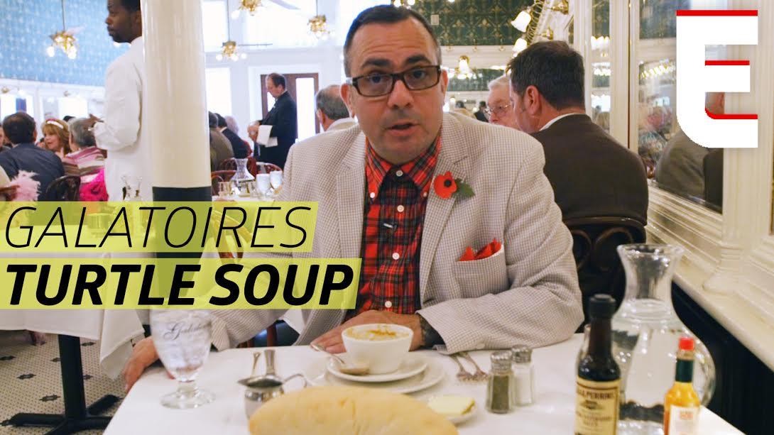... 'Watch How Turtle Soup, a New Orleans Classic, Is Made' in food
