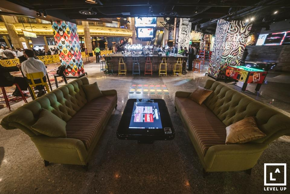 Game On Level Up Debuts At The Mgm Grand Eater Vegas