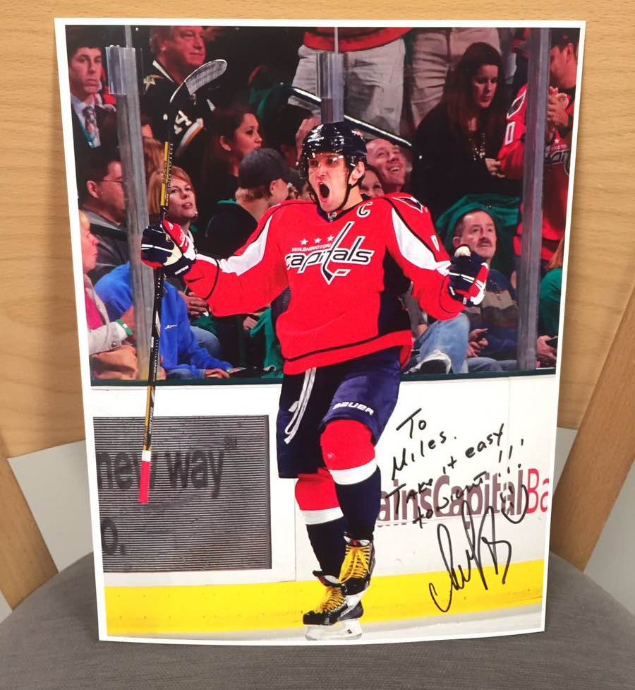 Devils player settles grudge with Alex Ovechkin 10 years after threatening him
