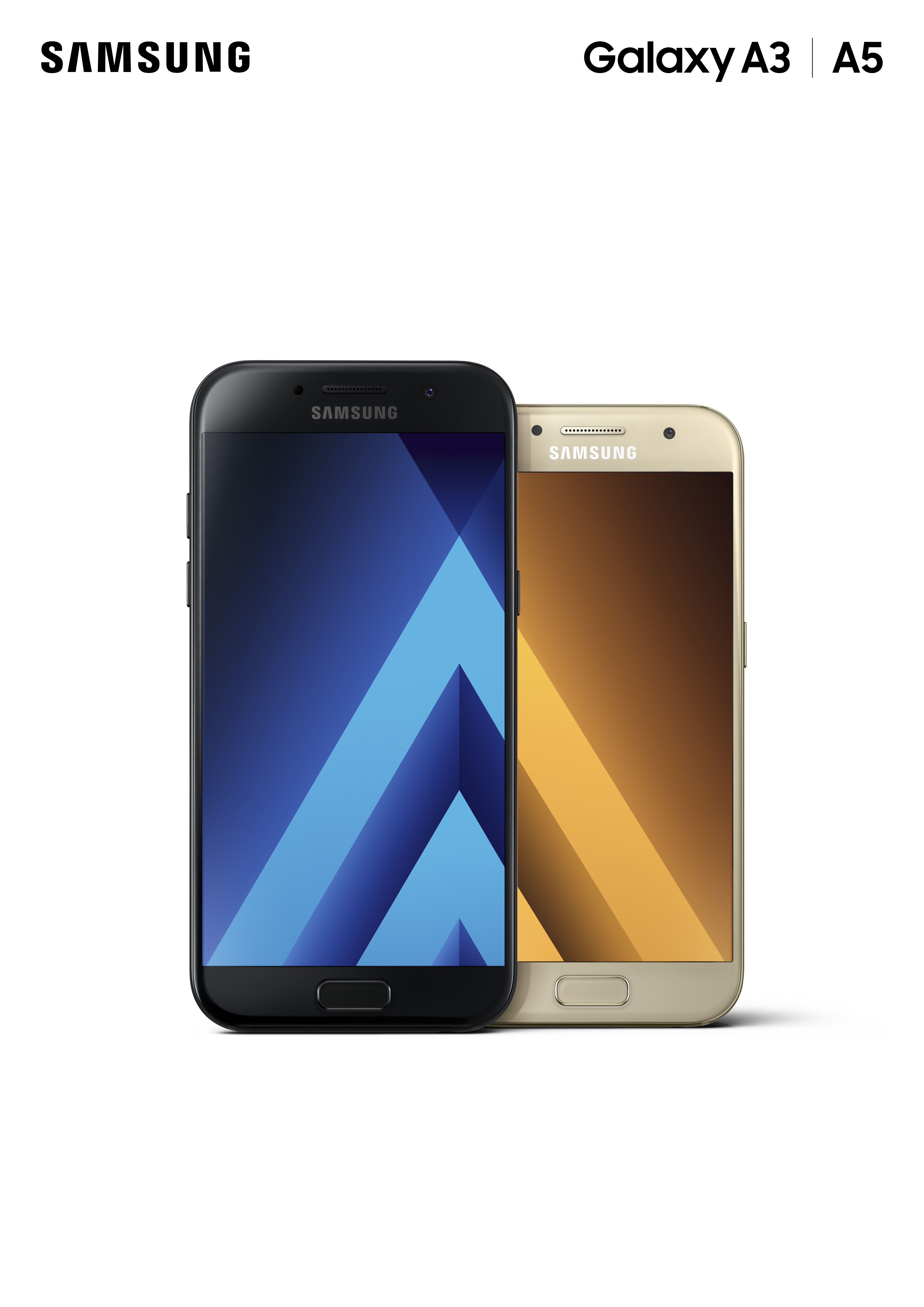 Samsung Updates Its Midrange Galaxy A Series With Water And Dust A5 2017 Gold Resistance Improved Camera The Verge
