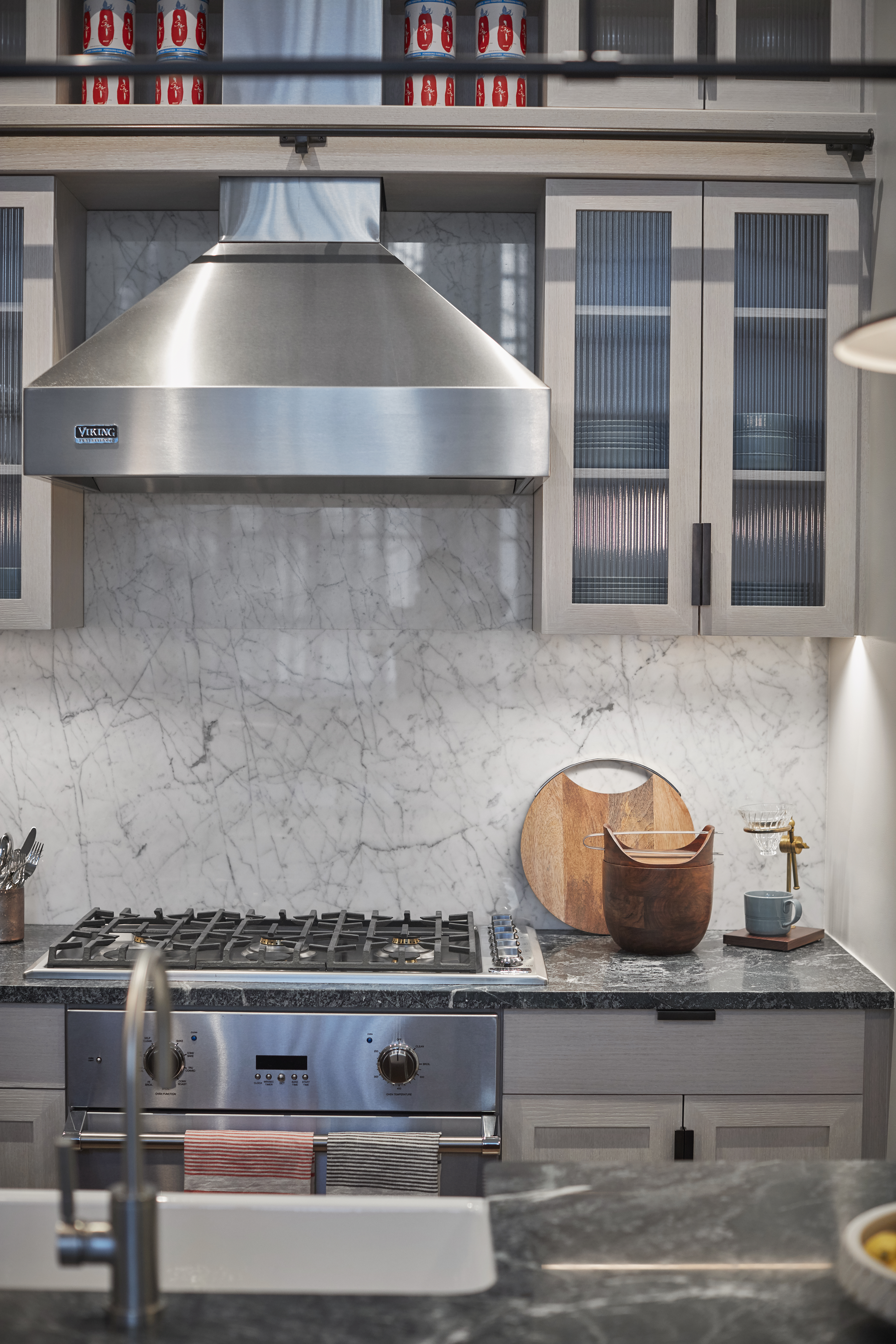 see inside the model unit for hell's kitchen school-to-condo