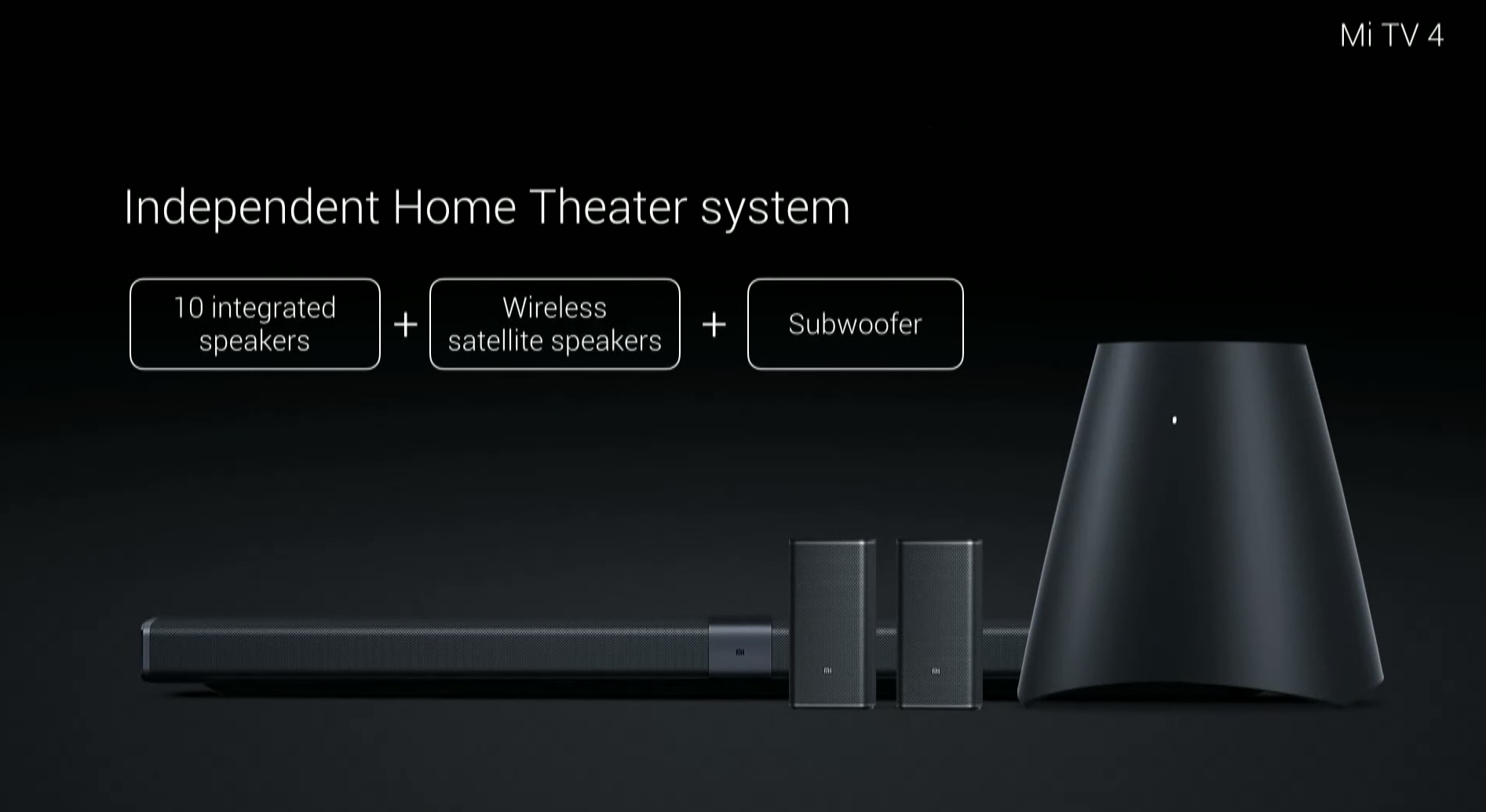 Xiaomi Mi Tv 4 Is 4 9mm Thick And Has Ai Content