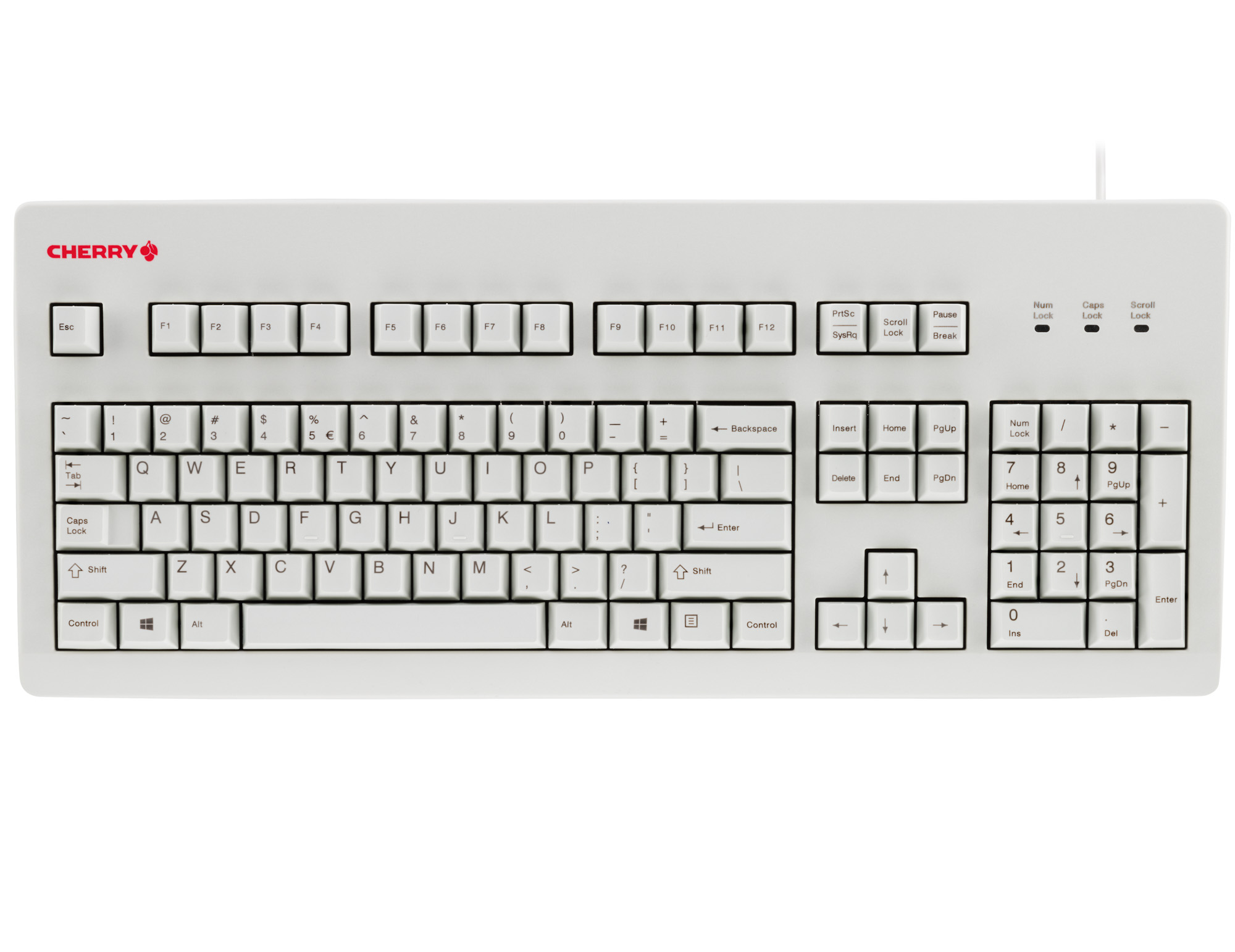 New Silent Mechanical Keyboard From Cherry Shipping Here