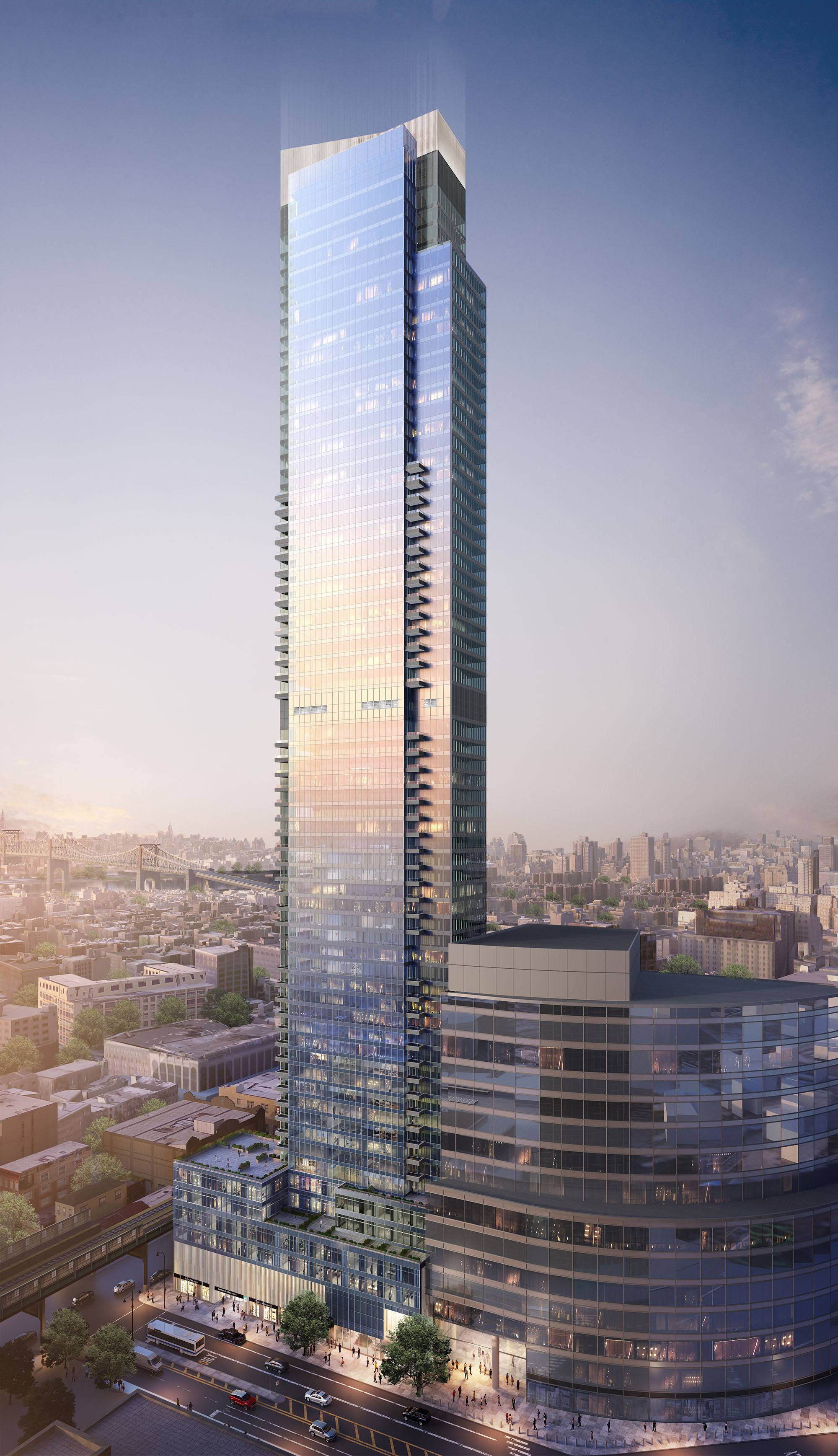 Behold New Looks At Queens S Soon To Be Tallest Tower