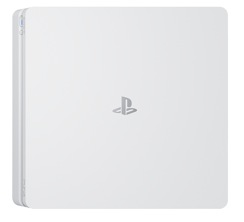 the ps4 slim is now available in a cool glacier white. Black Bedroom Furniture Sets. Home Design Ideas