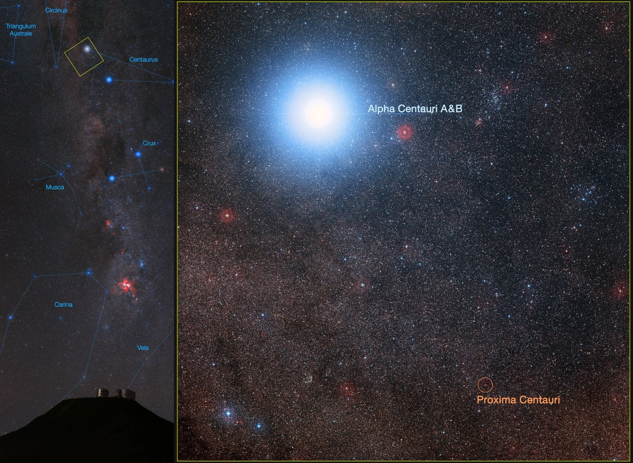 Giant telescope in Chile to seek habitable planets in Alpha Centauri
