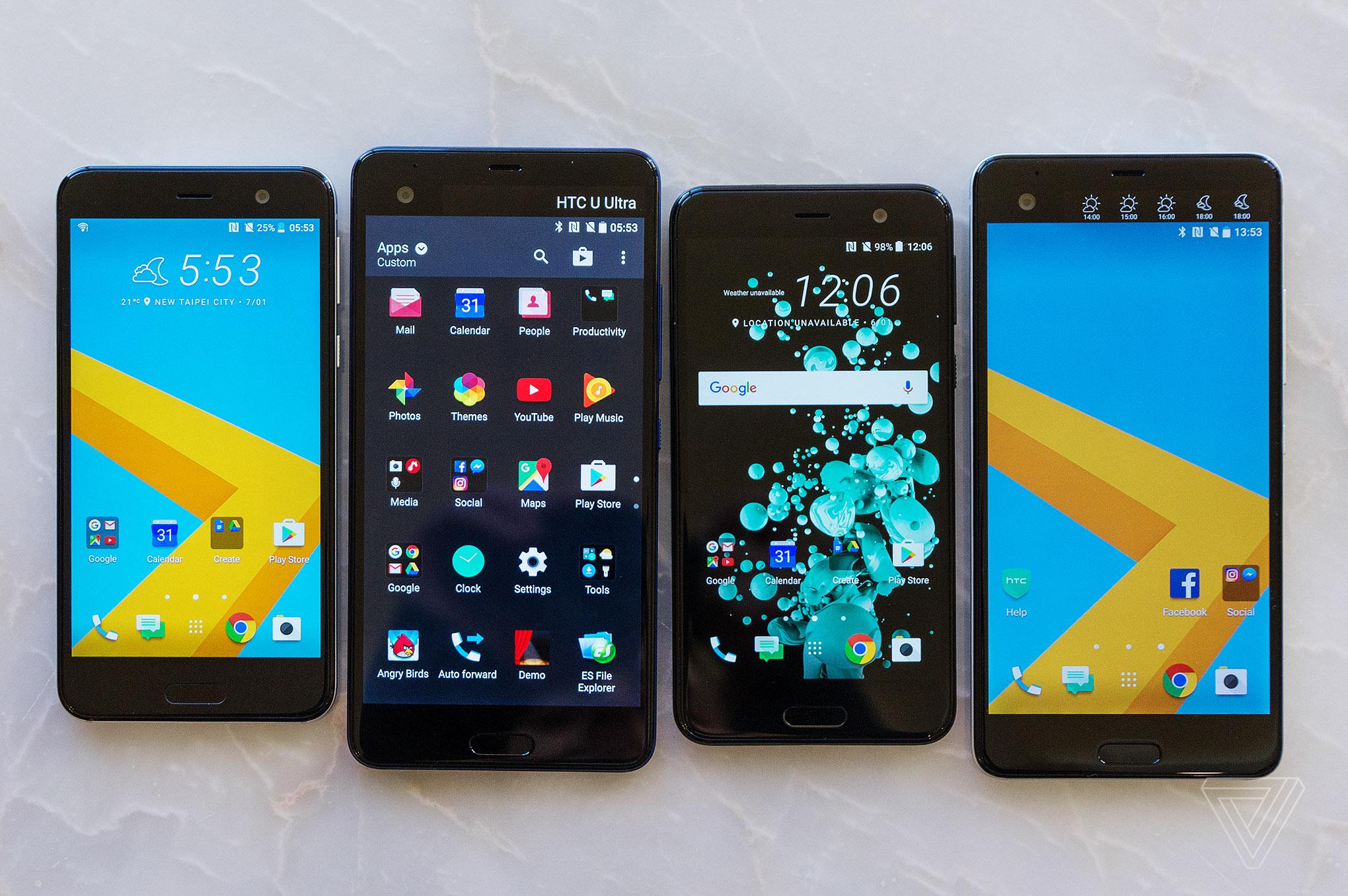 HTC's U Play and U Ultra