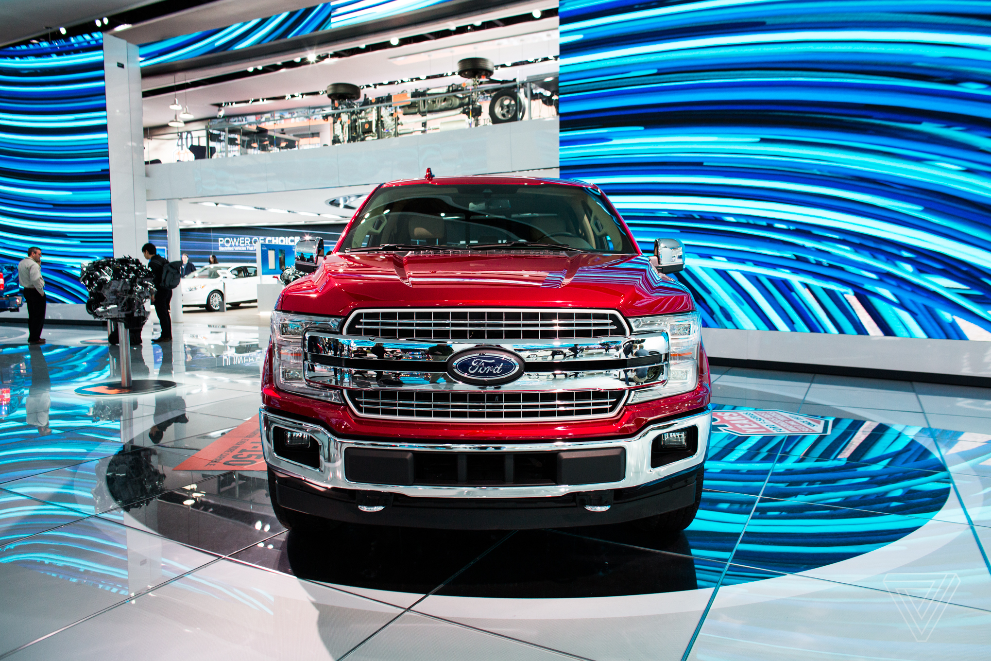 The 2017 detroit auto show in pictures the verge for Ford motor company charitable donations