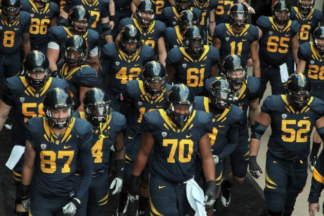 37603e8e6 You Can Blame the Blue Pants! Cal Football Uniforms 2006-2016 ...