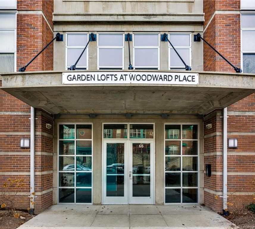 Apartments Downtown Detroit: Garden Loft Condo Soars With $300K Listing Price