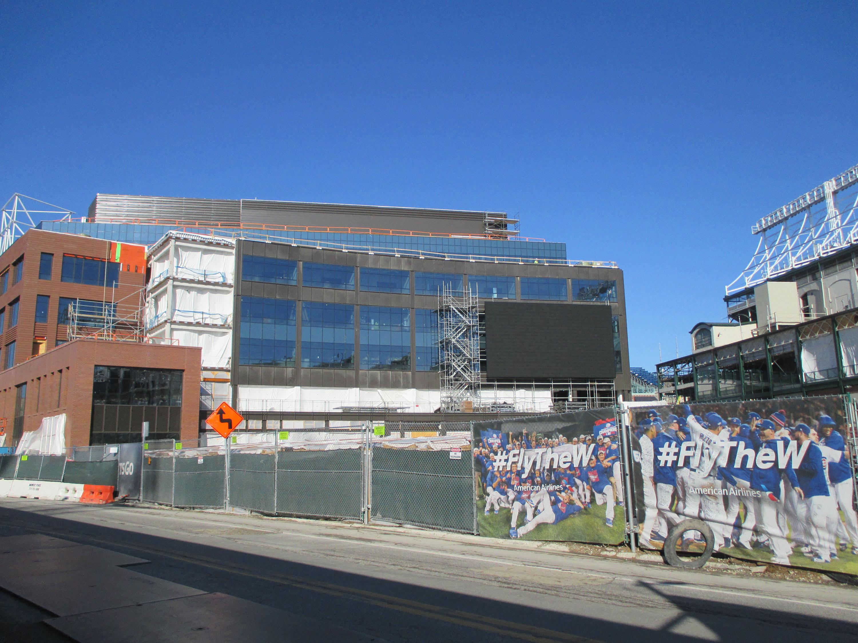 Wrigley Field Construction Update: January 21-22 - Bleed ...