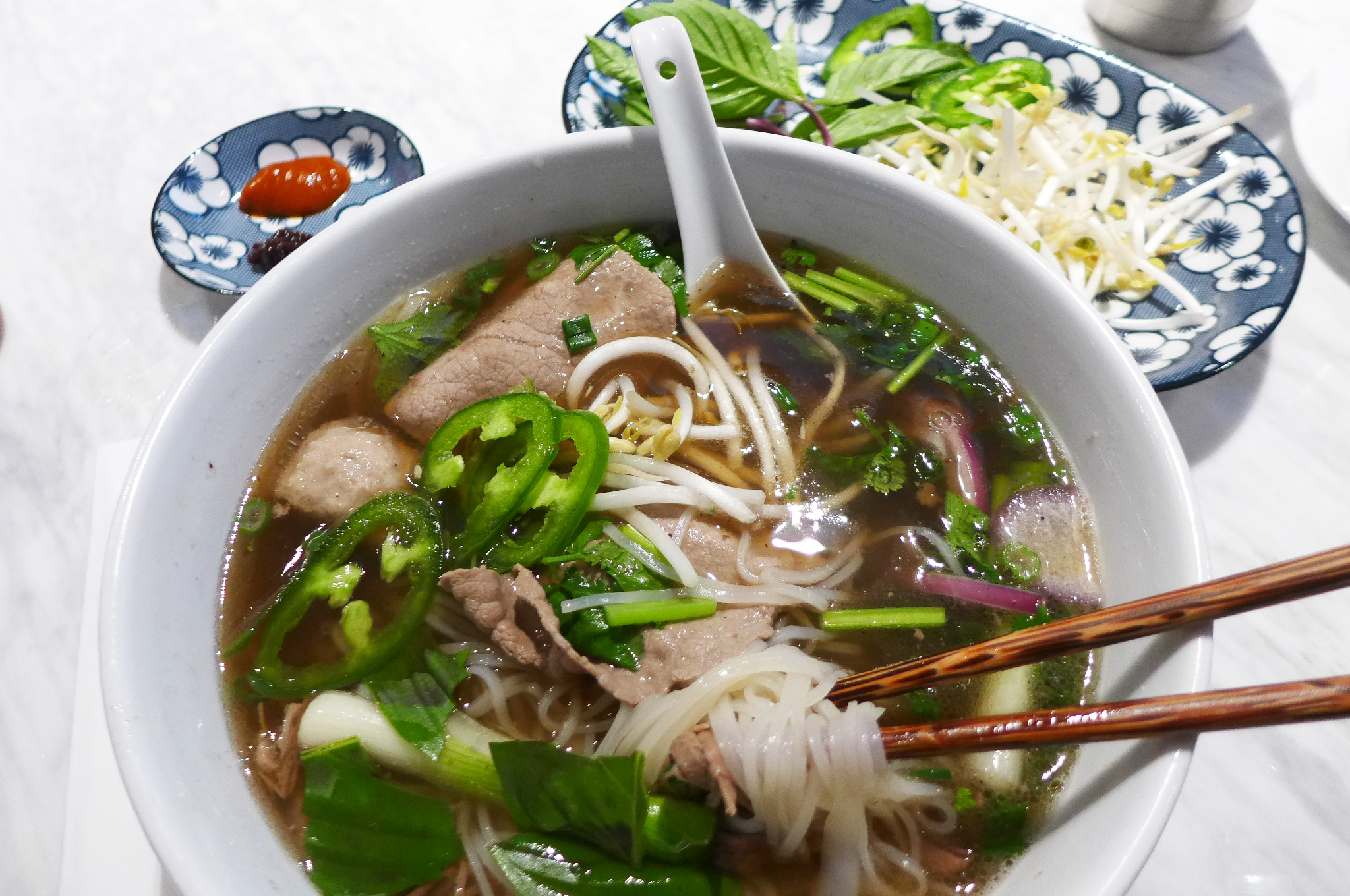 Pho vs. Pho at Hanoi House and Madame Vo in the East ...